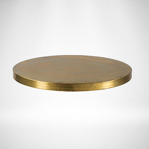 Brass table top