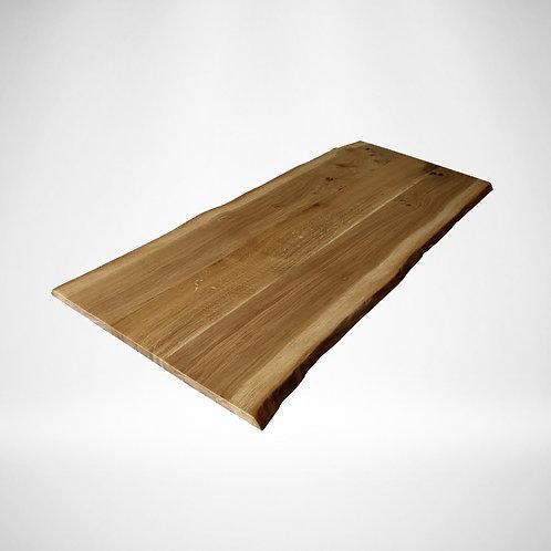 Waney Edge Oak table top