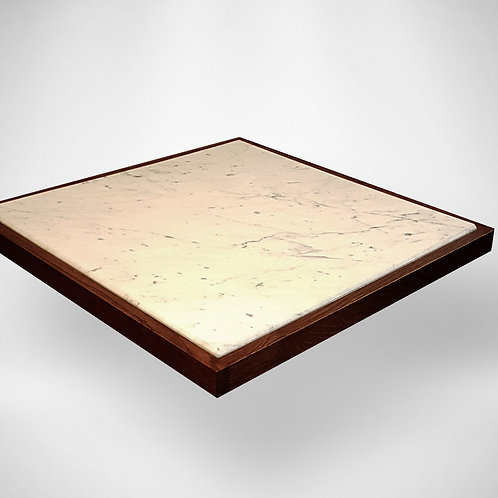 Stone and Oak Table Top