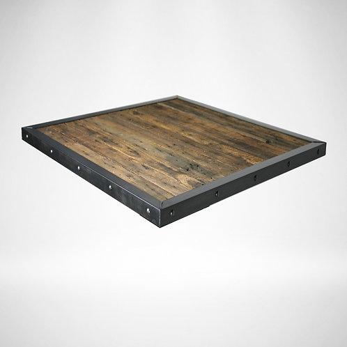 Angled steel edge