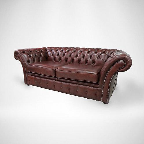 Cognac Chesterfield Sofa