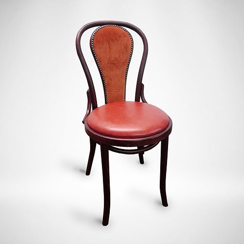 Uph Back Bentwood Dining Chair
