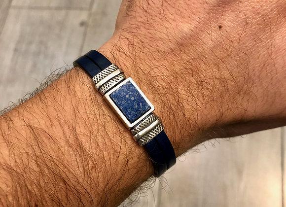Bracelet ceramique de Swarovski bleue