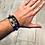 Thumbnail: Composition bracelet perles et cuir