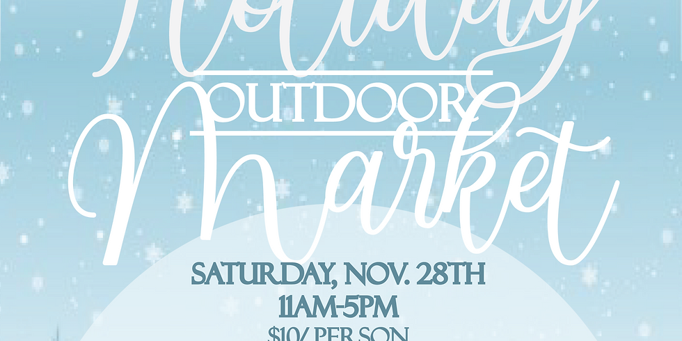 Outdoor Holiday Market 11:00- 12:00