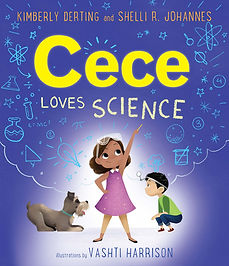 Cece Loves Science Cover