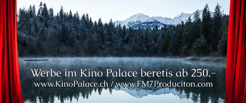Kino Palace Werbung - Winter Sujet FM7 P