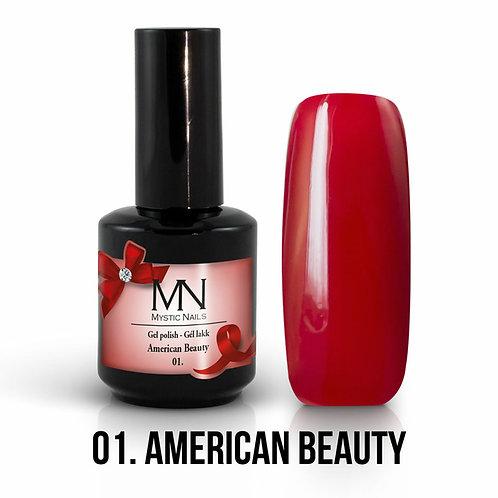 Vernis Semi-Permanent America Beauty (n°01)