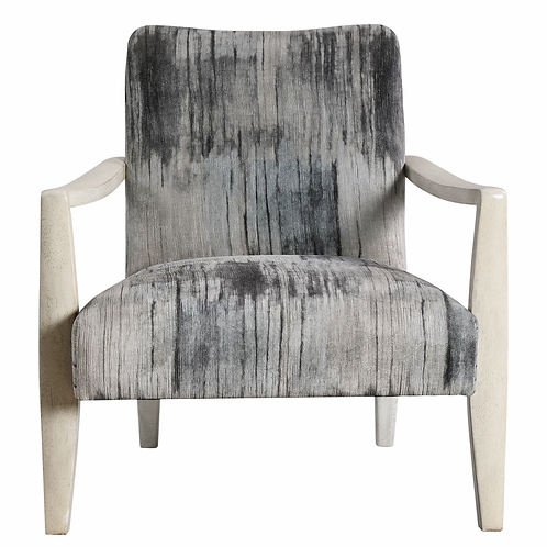Watercolor Gray Uttermost Chair