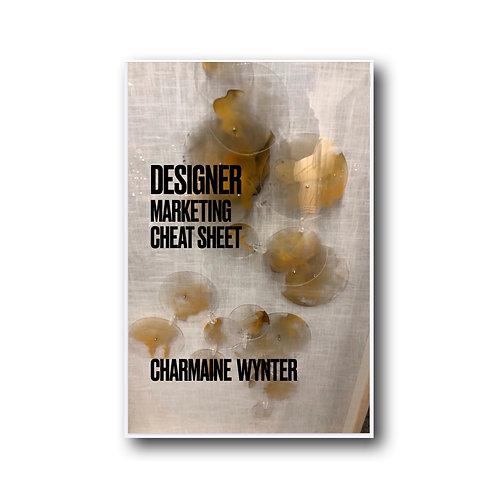Designer Marketing Cheat Sheet E-Book