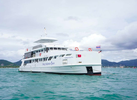 The Best Thailand Liveaboard aboard the Deep Andaman Queen!