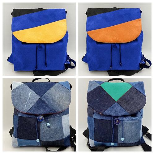 EW-Backbag Denim-Varia (inkl. 2 Klappen)