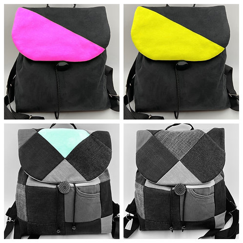 EW-Backbag Denim-Divisa (inkl. 2 Klappen)