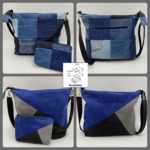 EW-Bag Denim-Triangula