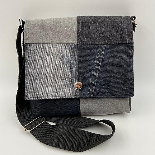 EW-Men's Bag Denim-Uno