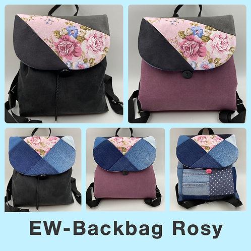 EW-Backbag Denim-Rosy (inkl. 2 Klappen)