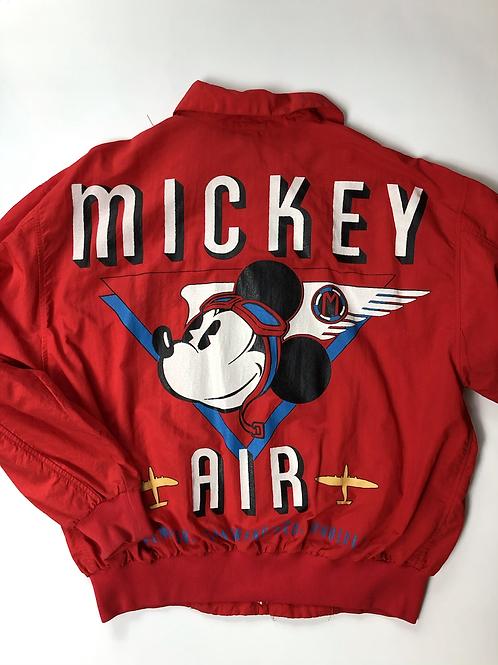 Vntg Mickey Mouse Windbreaker, 90s, Air Disney, M