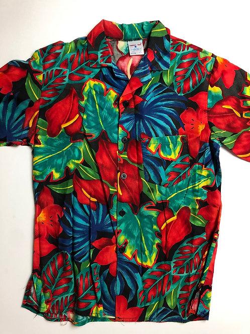 Hawaiian Shirt, Made in USA, M