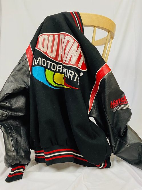 DuPont Jeff Hamilton Nascar Varsity Jacket, L