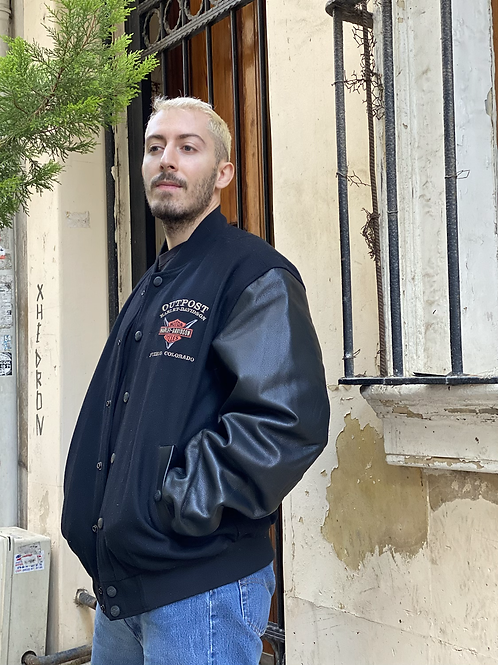 Harley Davidson Varsity Jacket, L