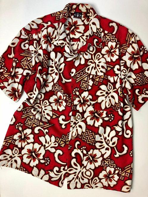 Surfing Hawaii Shirt, Made in USA, XL