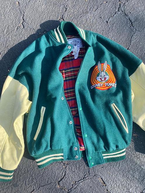 Vintage Bugs Bunny Varsity Ceket, L