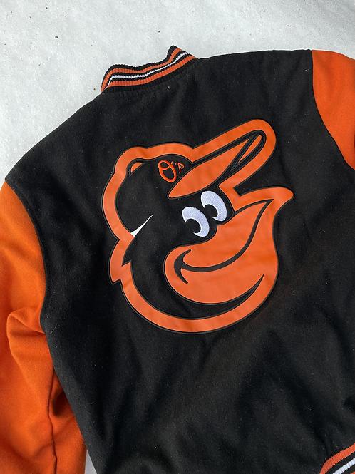 Jeff Hamilton Baltimore Orioles Baseball Jacket, M