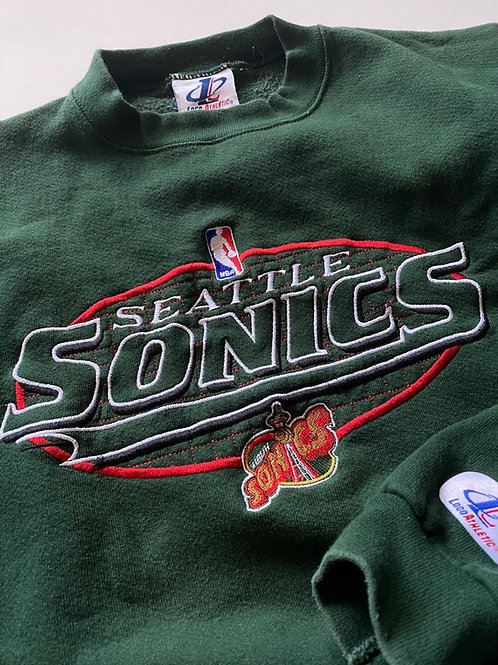 Seattle SuperSonics NBA Logo Athletic, L
