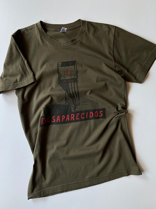 Desaparecidos Band Tee by American Apparel, S