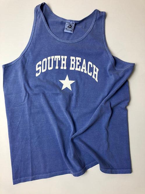South Beach SOBE sleeveless tee, L