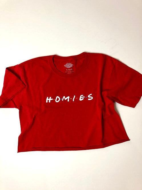 Homies (Friends) Crop, XS/S