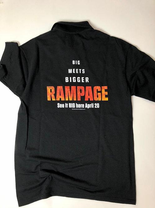 Rampage Movie Promo Polo The Rock, M