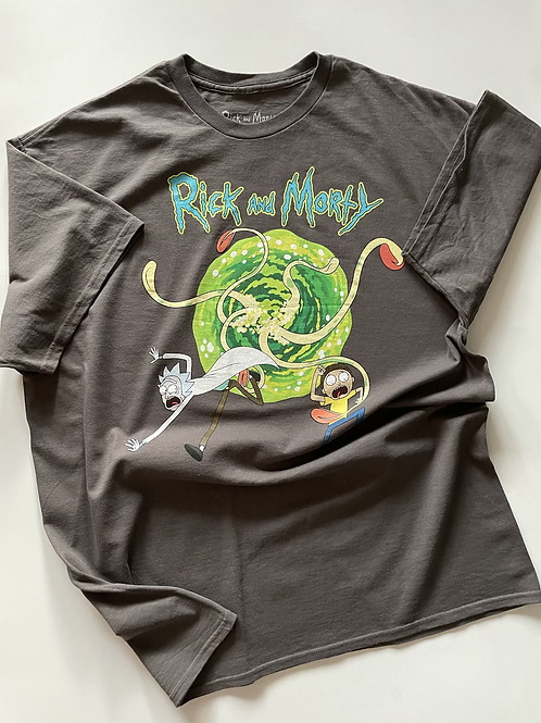 Rick and Morty Official Merch Tee, XL