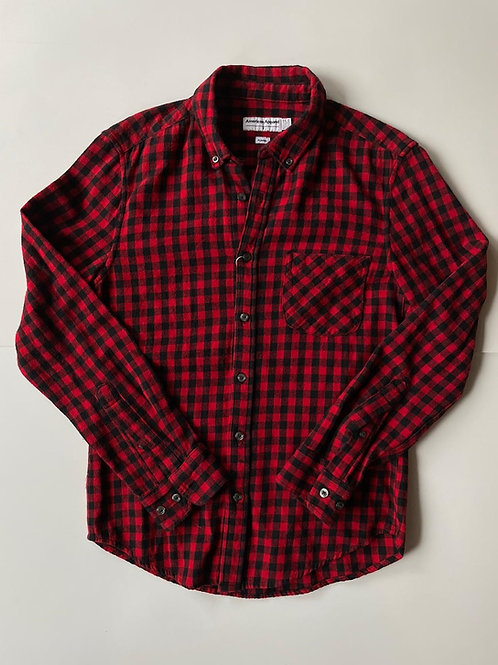 American Apperal Flannel, Made in USA, S