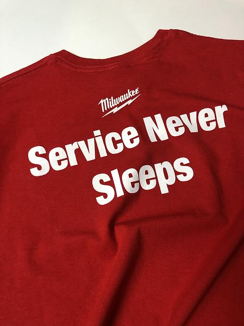 Milwaukee Service Never Sleeps, XL