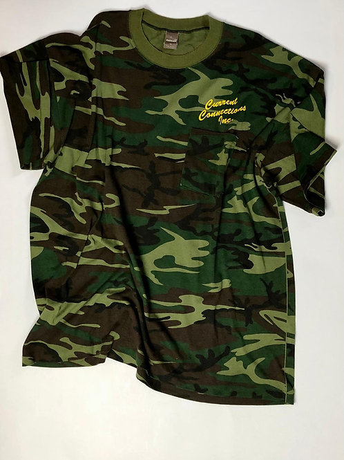 Current Connections INC Camo, Made in USA, XL
