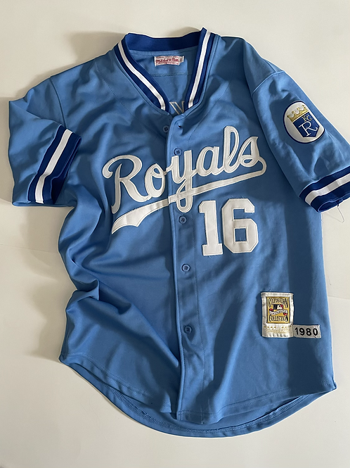 Kansas City Royals Bo Jackson Mitchell & Ness Cooperstown, Made in USA, XL