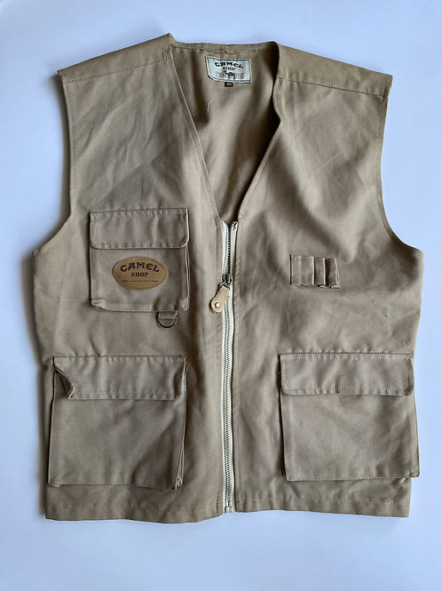 Camel Shop Vest, XL