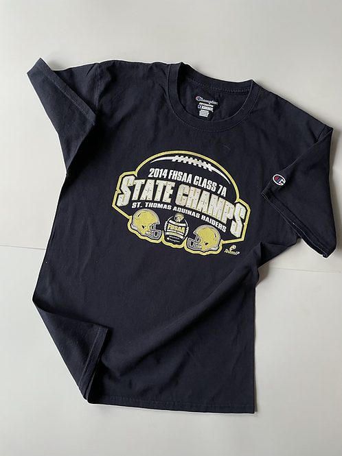 Aquinas & Raiders State Champs Champion, M, 2014