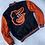 Thumbnail: Jeff Hamilton Baltimore Orioles Baseball Jacket, M