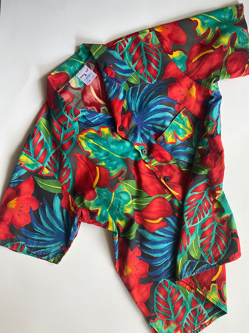 Vintage Floral Shirt, M