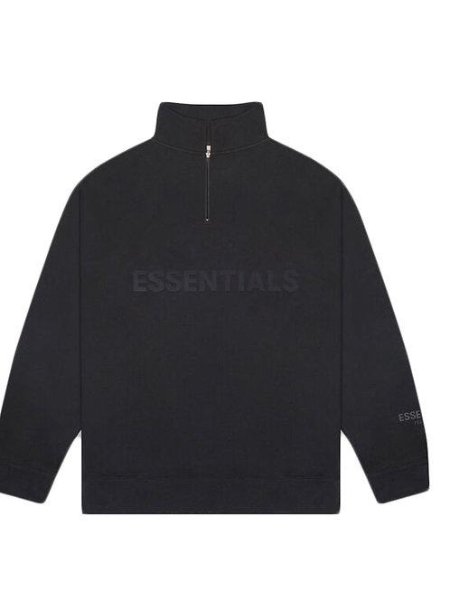 FOG x Essentials Half Zip Pullover Sweatshirt, brand new w tag, M