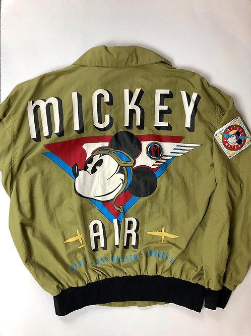 Vntg Mickey Mouse Windbreaker, 90s, Air Disney, XL