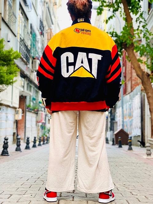 Cat Jeff Hamilton Nascar Jacket, L