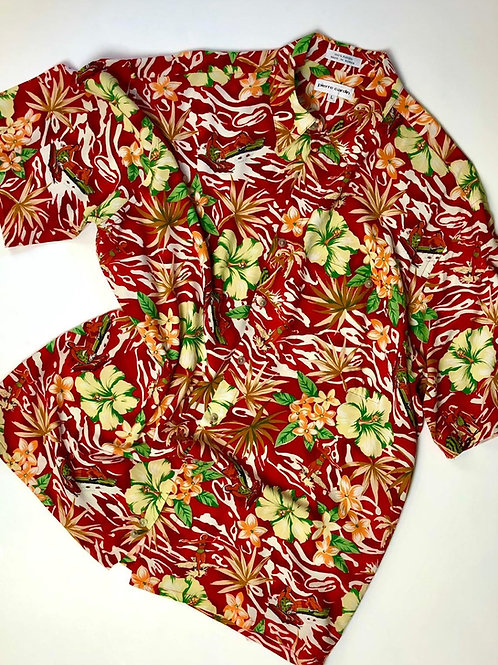 Pierre Cardin Hawaii Shirt, L