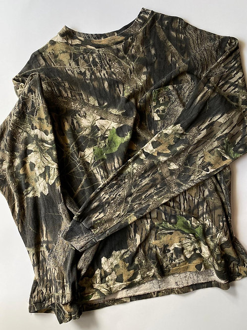 Mossy Oak Uzun kollu, Made in USA, L/XL