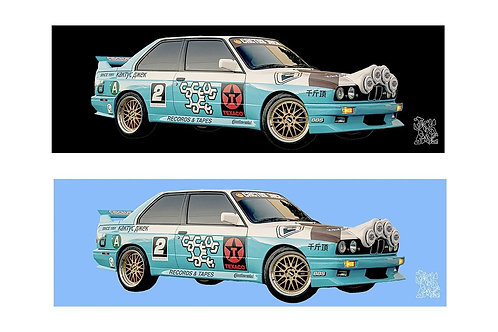 JackBoys Vehicle Bumper Sticker Pack  E30/M3