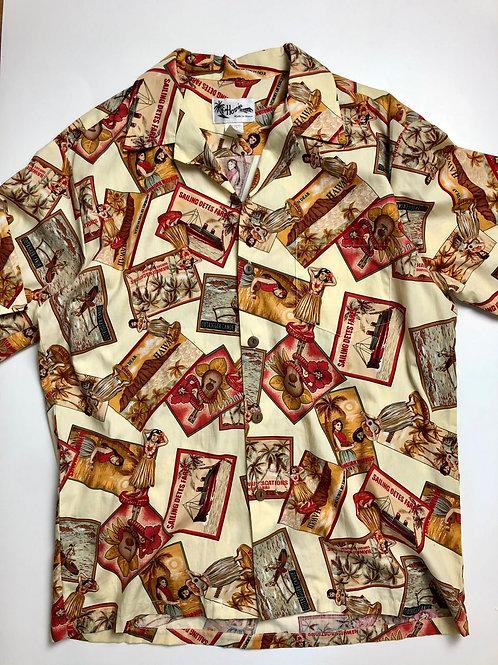 Howie Hawaii Shirt, Made in Hawaii, L