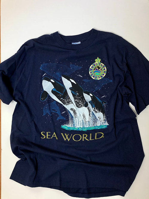 Sea World, Made in USA, single stitch, XL