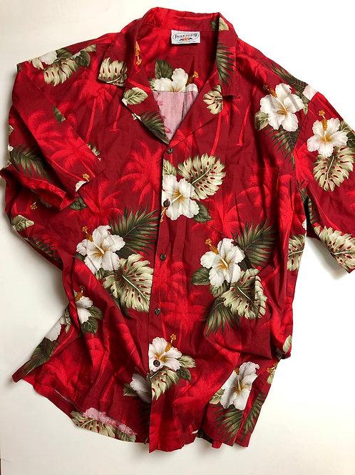 Pacific Legend Hawaiian Shirt, Made in Hawaii, L